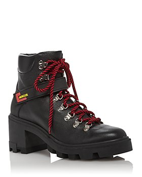 Moncler - Women's Carol Lace Up Ankle Booties