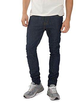 Purple Brand - Skinny Fit Jeans in Raw Indigo
