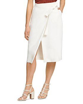 DKNY - Wrap Front Skirt