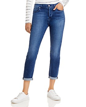 7 For All Mankind - Josefina Jeans in Peace Blue
