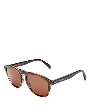 Celine Men's Round Sunglasses, 55mm