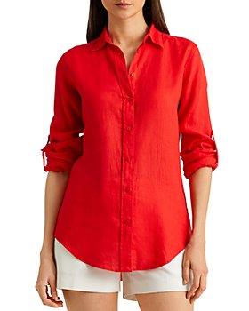 Ralph Lauren - Linen Button Front Shirt