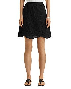 Ralph Lauren - Embroidered Voile Mini Skirt