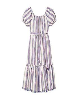 Tory Burch - Striped Midi Dress