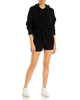 AQUA - Fuzzy Hoodie & Drawstring Shorts - 100% Exclusive
