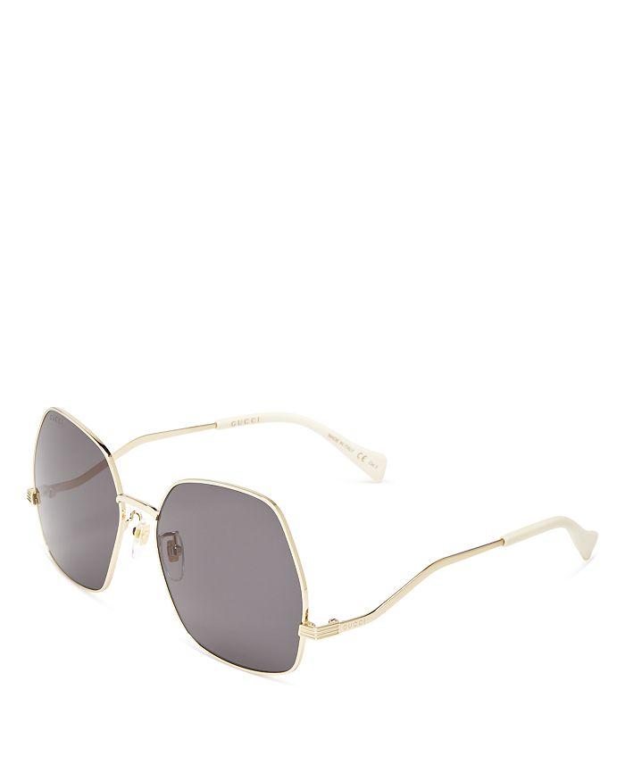 Gucci - Women's Geometric Sunglasses, 60mm