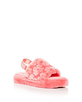 UGG® - Girls' Fluff Yeah Poppy Slingback Slippers - Little Kid, Big Kid