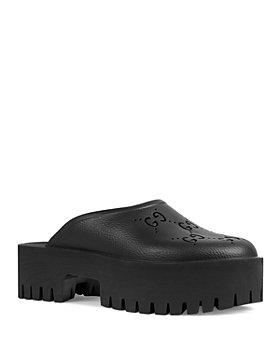 Gucci - Women's Platform Clog Sandals