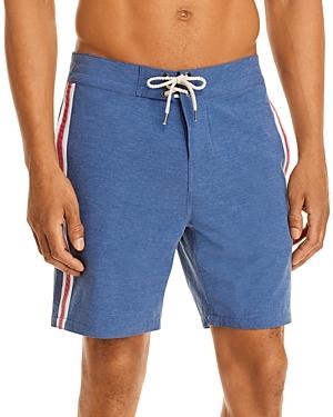 Retro Surf Stripe Board Shorts