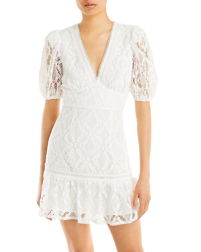 AQUA - Crochet Mini Dress - 100% Exclusive