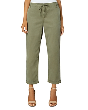Liverpool Los Angeles Cuffed Utility Pants