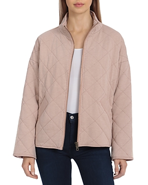 French Terry Quilted Jacket