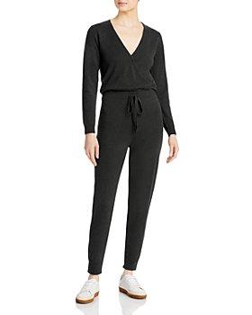 AQUA - Long Sleeve Jumpsuit - 100% Exclusive