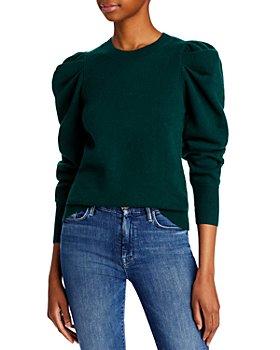 AQUA - Puff Sleeve Sweater - 100% Exclusive