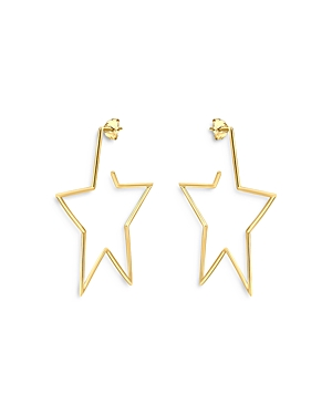 Aqua Star Drop Earrings in 18K Gold-Plated Sterling Silver - 100% Exclusive