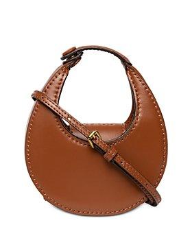 STAUD - Micro Moon Bag Leather Crossbody