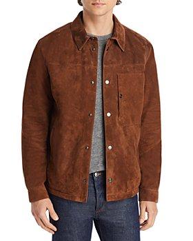 Z Zegna - Suede Shirt Jacket
