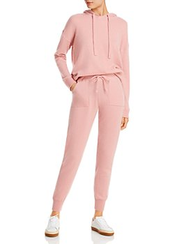 C by Bloomingdale's - Cashmere Hoodie & Jogger Pants - 100% Exclusive