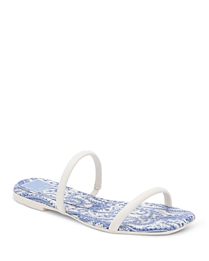 Women's Lester Square Toe Double Strap Sandals