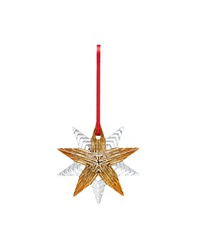 Baccarat - 2021 Annual Ornament with 20K Gold