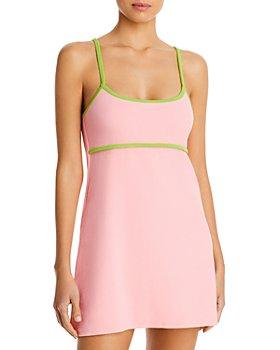 Frankies Bikinis - Ophelia Terry Cover Up Dress
