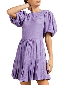 Ted Baker - Pleated Hem Mini Dress