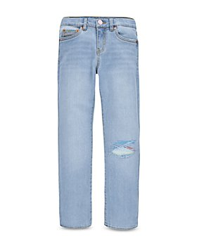 Levi's - Girls' Embroidered Girlfriend Jeans - Big Kid