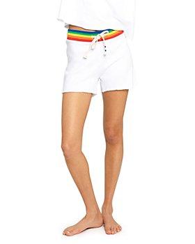 SOL ANGELES - Rainbow Stripe Shorts