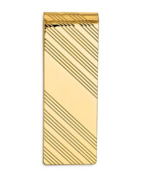 Bloomingdale's - Men's Grooved Polished Money Clip in 14K Yellow Gold - 100% Exclusive
