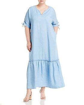 Marina Rinaldi - Destato Ruffle Maxi Dress