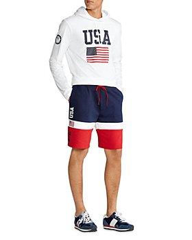 Polo Ralph Lauren - Team USA Hooded Tee & 9.5-Inch Shorts