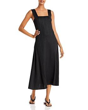 Theory - Paneled Midi Dress