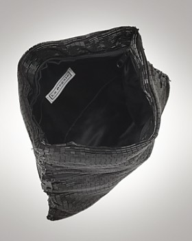 Sondra Roberts - Bugle Beaded Fold-Over Clutch