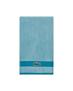 Lacoste - Heritage Antimicrobial Striped Bath Towel