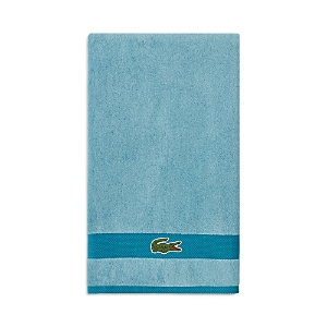 Lacoste Heritage Antimicrobial Striped Bath Towel