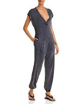 Free People - Hot Shot Plunging Jumpsuit