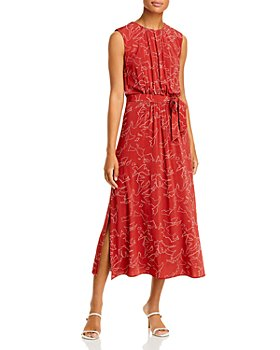 BOSS - Esoara Printed Midi Dress