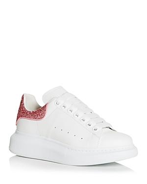 Alexander McQUEEN Women's Oversized Glitter Heel Detail Sneakers