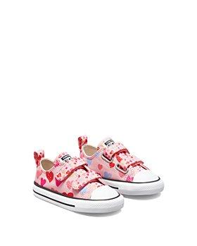 Converse - Girls' Heart Print All Star Sneakers - Baby, Walker, Toddler
