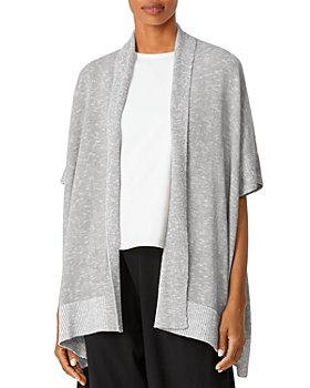Eileen Fisher - Boxy Open Front Cardigan