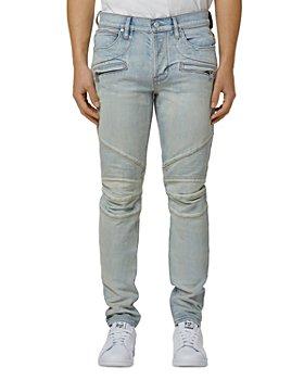Hudson - Blinder V.2 Biker Skinny Fit Jeans in Fleetwood
