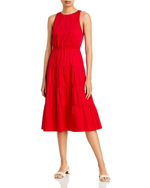 Hartley Open Back Tiered Dress