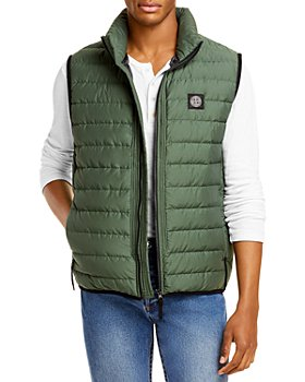 Stone Island - Quilted Full Zip Down Vest