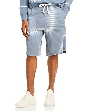 Victory Tie Dye Cut Off Sweat Shorts