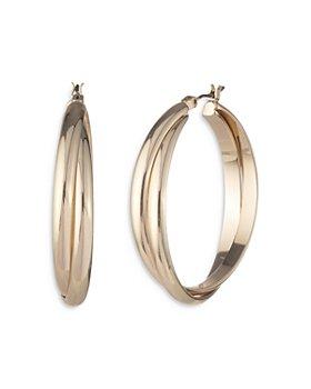 Ralph Lauren - Twisted Hoop Earrings