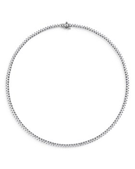 Bloomingdale's - Diamond Tennis Necklace in 14K Yellow or White Gold, 8.0 ct. t.w. - 100% Exclusive