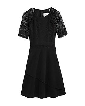 US Angels - Girls' Lace Textured Dress - Big Kid