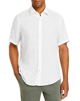 BOSS - Luka Linen Button Down Shirt