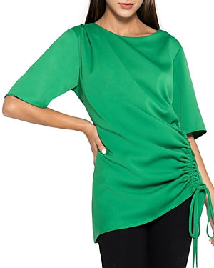 One Side String Gathered Blouse (33% off) Comparable value $67.50