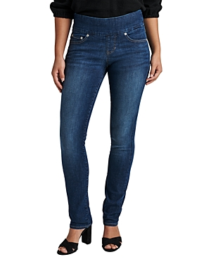 Peri Straight Pull On Jeans in Anchor Blue